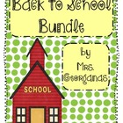 {Back to School} Bundle
