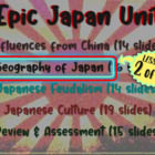 *** Japan!!! (part 2: Geography of Japan) visual, textual,