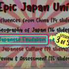 *** Japan!!! (part 3: Japanese Feudalism) visual, textual,