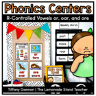 -Or, -ore, and -oar Word Work Activities