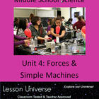 Unit 4: Physical Science Forces & Simple Machines Unit