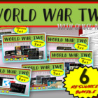 World War 2 (WWII): VISUAL, TEXTUAL & ENGAGING; MASSIVE 6-