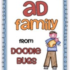 -ad Word Family Mini Unit