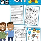 EN Word Family Games-Activities-Worksheets
