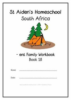 -ent Word Family Workbook