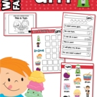 """-um"" Word Family Games-Activities-Worksheets"