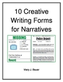 10 Creative Writing Forms for Narrative