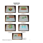 10 Little Frogs Subtraction Book for Students to Make