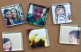 10 Personalized Photo Magnets