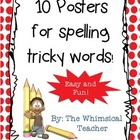 10 Posters Commonly Misspelled Words Middle School Grammar