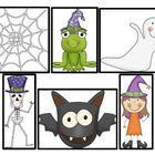 10 Trick-or-Treaters Math Fun