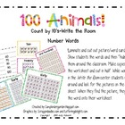 100 Animals Write the Room-Count by 10's