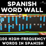 100 Basic Words for a Spanish Word Wall