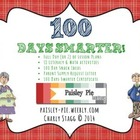 100 Days Smarter- 100th Day of School activities for liter