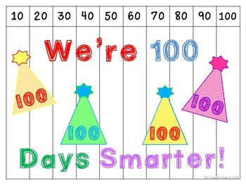 100th Day Count by 10s Puzzle {FREEBIE!!}