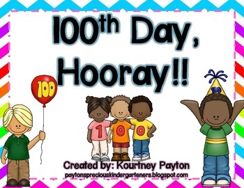 100th Day Hooray!!