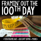 100th Day - Ten Frame Party Hat