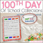 100th Day of School Collection Bag & Poster Letter Home an