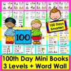 100th Day of School Emergent Readers and Harder-3 Rdg Leve