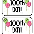 100th Day of School Hat Topper Freebie