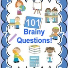 101 Questions! Early Finishers All Subjects Learning Packe