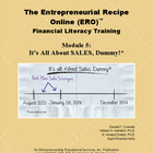 11 - It's ALL About Sales DUMMY !!!