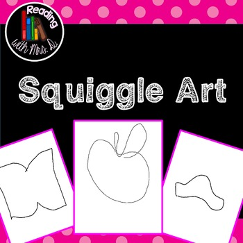 116 Squiggle Art Pages