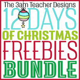 12 Days of Christmas Freebies: Free Holiday Clip Art