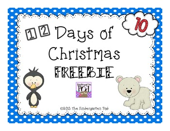 12 Days of Christmas Freebies....Day 10
