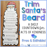 12 Days of Christmas Kindness (Editable) Whimsy Workshop Teaching