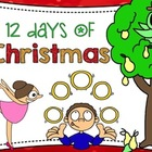 12 Days of Christmas Printable Book