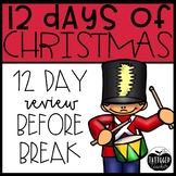12 Days of Christmas Printables! No Prep and Common Core aligned!