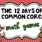 12 Days of Common Core Christmas Math