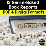 12 Different Genre Focused Book Reports