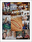 """12 Tips"" for the Aspiring Entrepreneur! -  Paperback Book"