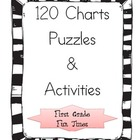 120 Chart Puzzles and Activities