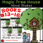 #13-16 Magic Tree House Book  Novel Study Units