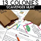13 Colonies Scavenger Hunt Game