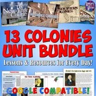 Complete 13 Colonies Unit Bundle