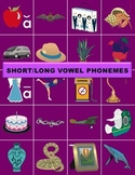 Short & Long Vowel Phonemes Manipulatives (No CD)