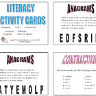146 LITERACY TASK CARDS Grades 2-3 (Main Idea, Fact/Opinio