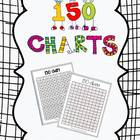 150 Charts for Counting and Numeracy