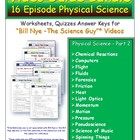 16 Earth Sci  (2-Earth) Guides for Bill Nye** - Worksheet