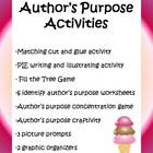 17 Author's Purpose Activities - 31 pages!