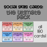 180 Social Skills Cards: The Ultimate Pack