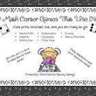 19 Math Center Games - Using Dice