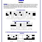 1984: 10 Quotefall Puzzles--A Great Spelling Workout!
