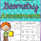 1.G.1 First Grade Geometry Assessment