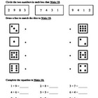 (1.OA.6) Make Ten Strategy -1st Grade Common Core Math Wor