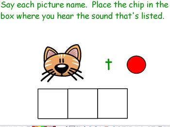 1.RFS.2 Beginning, Middle, End Sounds ActivInspire Flipchart